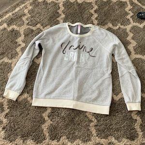 "Cute ""Shine bright"" sweatshirt from Target"